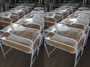 Box Bayi bahan Besi dan Stainless