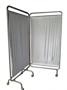 Bed Screen 2 3 Layar Bahan Stainless dan Besi