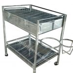 Dressing Trolley Stainless