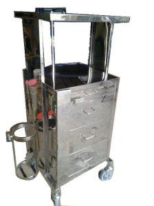 Trolley Emergency Besi dan Stainless