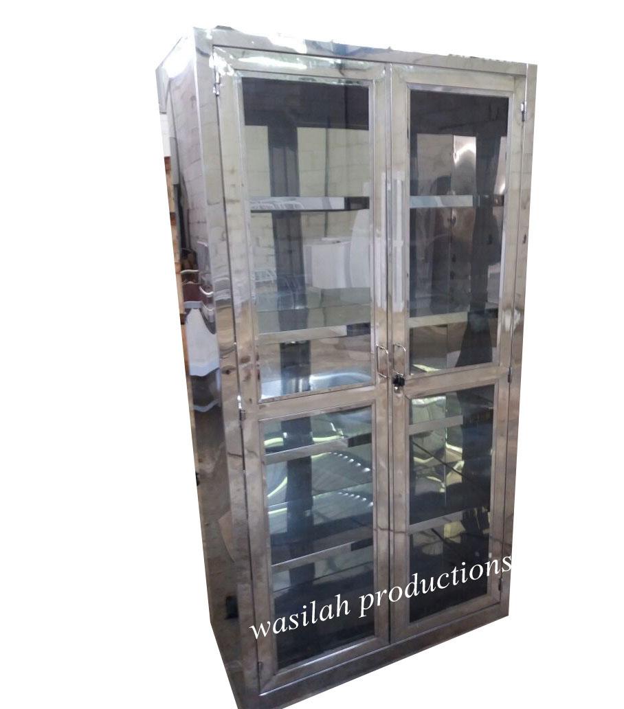 Lemari Instrumen Stainless Menjual Dan Memproduksi Peralatan Box Bayi Troli 3 Rak Laci