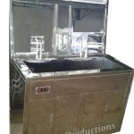 Scrub Station 2 Person Stainless