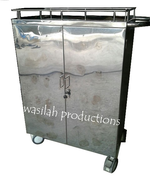 Food Trolley 2 Pintu